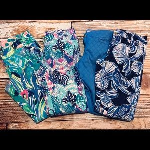 4 pair of Lilly Pulitzer Kelly Pants